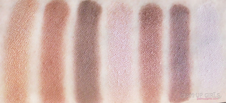 Milani Paint Eyeshadow Palette in Abstract swatches