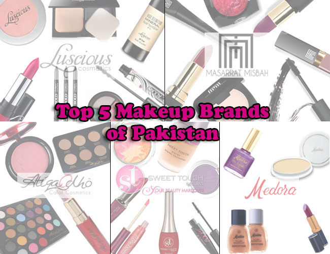 5 Best Cosmetics Brands in Pakistan