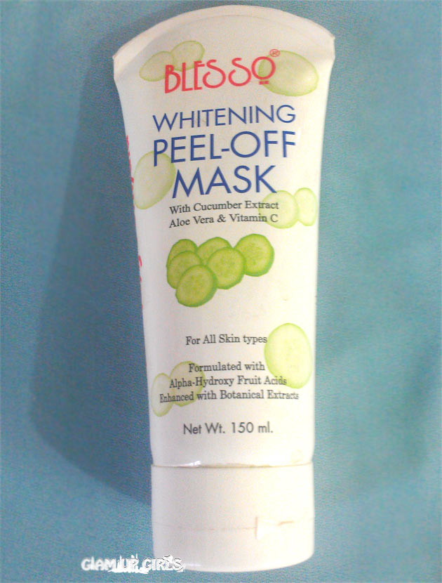 Blesso PEEL-OFF Mask with Cucumber Extracts Aloe vera and Vitamin C