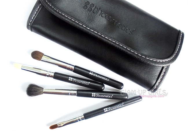 BH Cosmetics Eye Essential To Go - 4 Piece Brush Set - Review