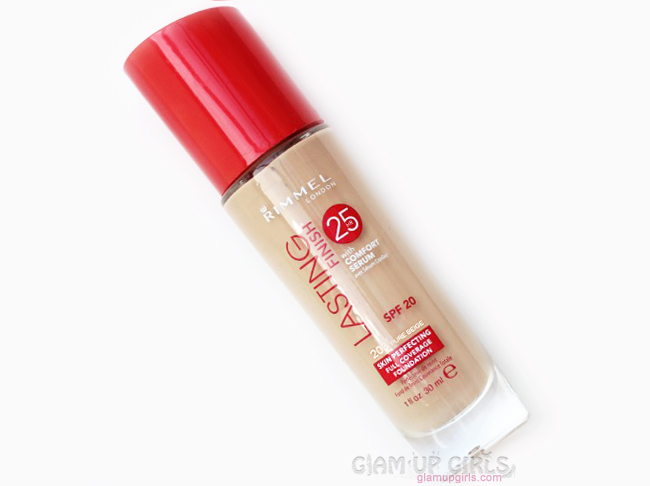 Rimmel Lasting Finish Foundation with Comfort Serum Review