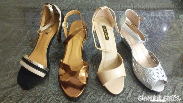 Shoes haul form metro