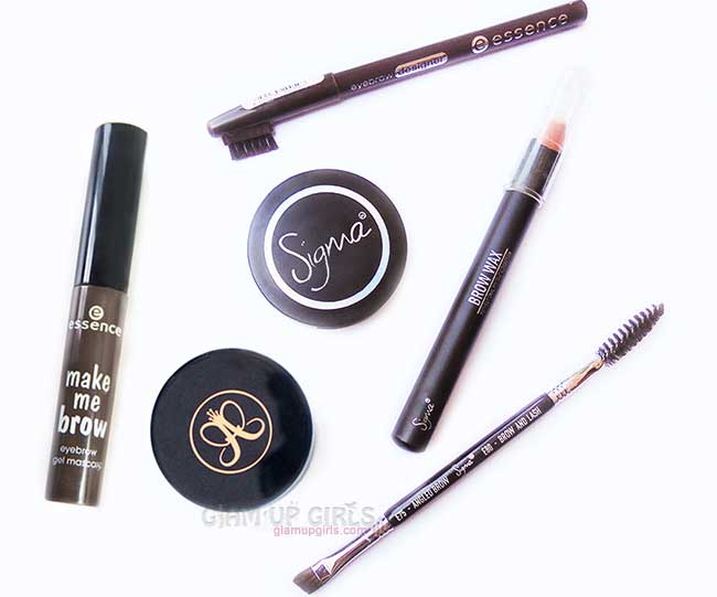 Best Makeup Products for Eye Brow - Tips and Uses