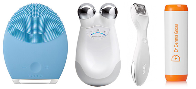 Best skin care gadgets, Luna, NuFace, Microneedling, Light therapy