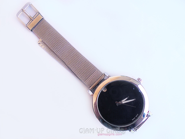 Alloy Adorn Quartz Watch