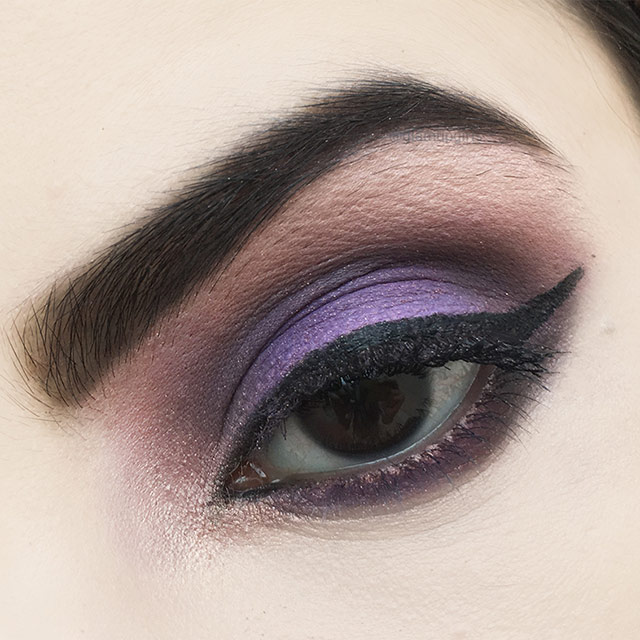Glamorous Purple smokey Eye Look - EOTD