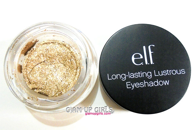 E.L.F Studio Long-Lasting Lustrous Eyeshadow in Toast - Review and Swatches