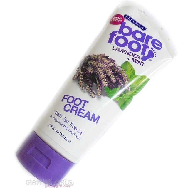 Freeman Lavender + Mint Foot Cream