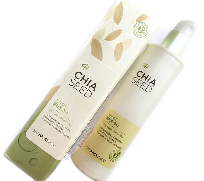 The Face Shop Chia Seed Watery Toner - Review