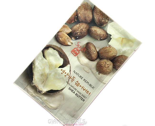 Nature Republic Real Nature Mask Sheet in Shea Butter