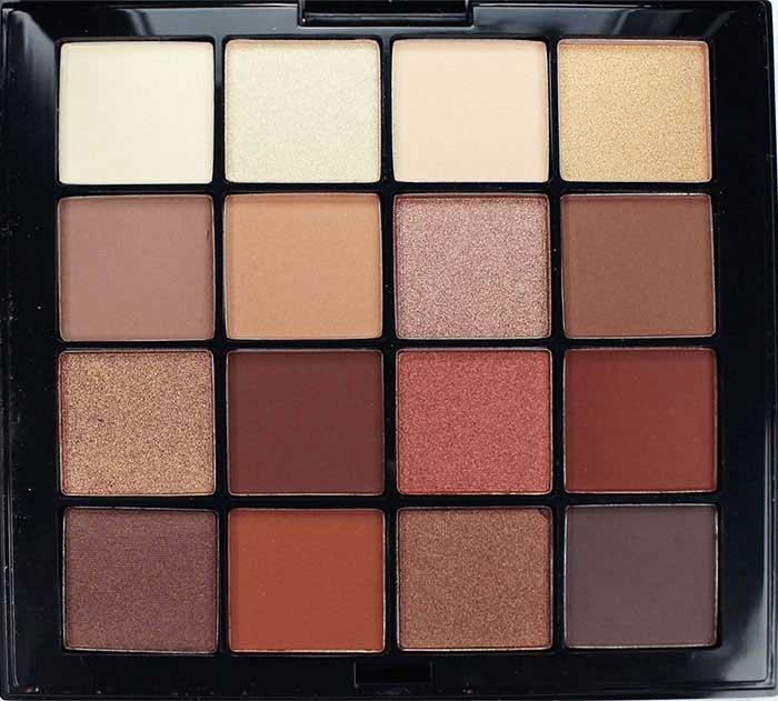 NYX Ultimate Shadow Palette in Warm Neutrals shades
