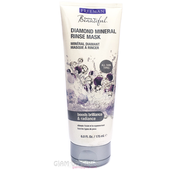Freeman Diamond Mineral Rinse Mask