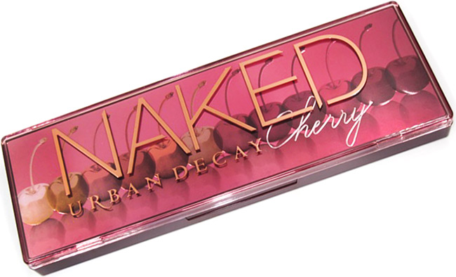 Urban Decay Naked Cherry Eyeshadow Palette Packaging