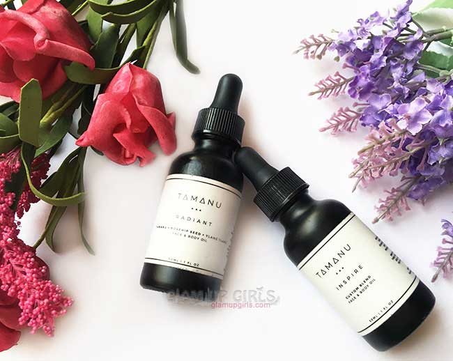 Radiant Blend and Inspire Blend from Tamanu Oil Lab - Review