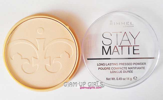 Rimmel Stay Matte Long Lasting Pressed Powder in Transparent - Review