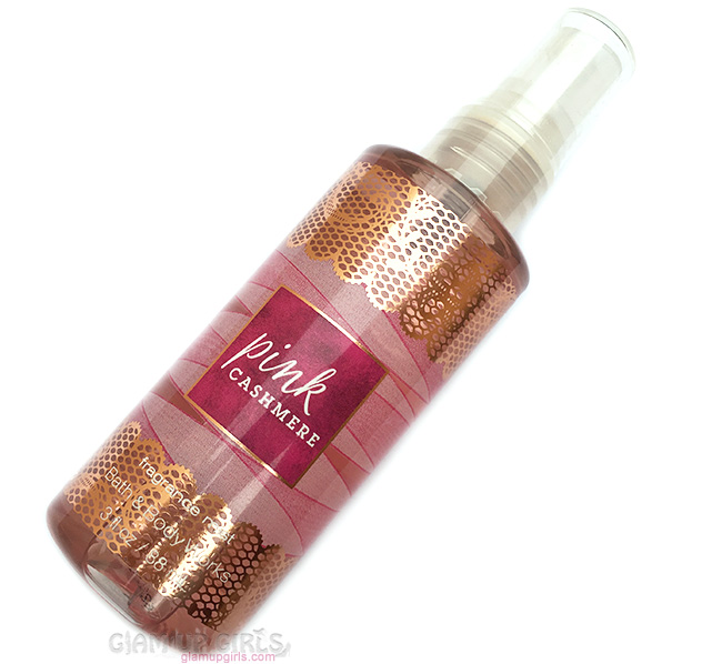 Bath and Body Works Pink Cashmere Fragrance Mist Review