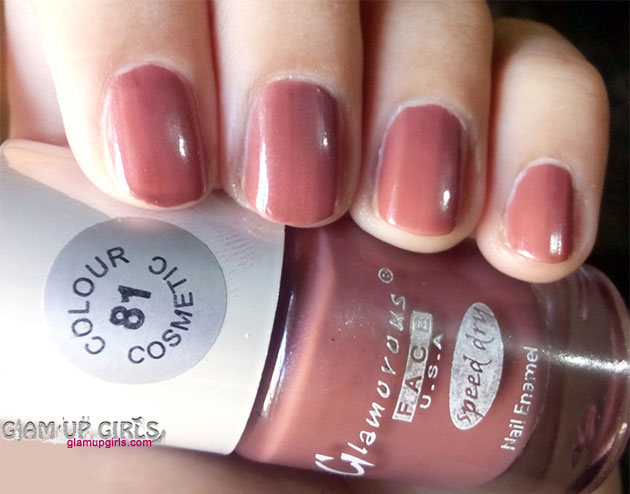 Glamorous Face U.S.A Speed Dry Nail Polish in shade 81