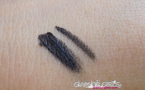 Maybelline Eye Studio Lasting Drama Gel Eyeliner in Black - Review and Swatches