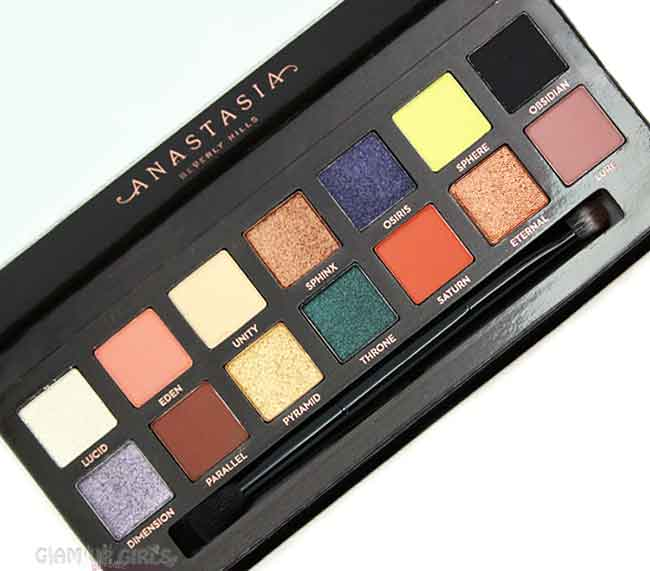 Anastasia Beverly Hills Prism Eye Shadow Palette - Review and Swatches