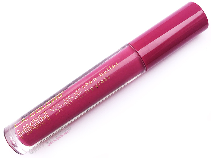 L.A. Color High Shine Lipgloss in Bohemian