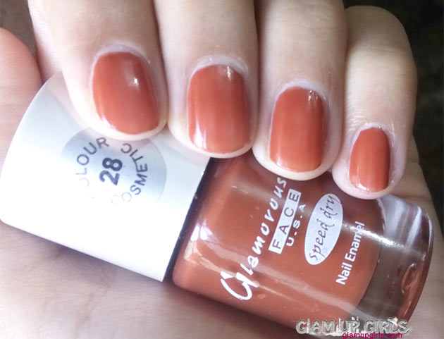 Glamorous Face U.S.A Speed Dry Nail Polish in shade 28