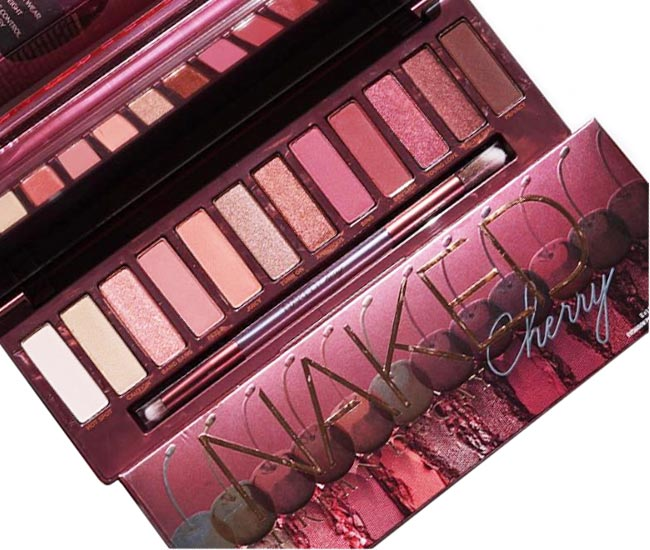 Urban Decay Naked Cherry Eyeshadow Palette - Review and Swatches