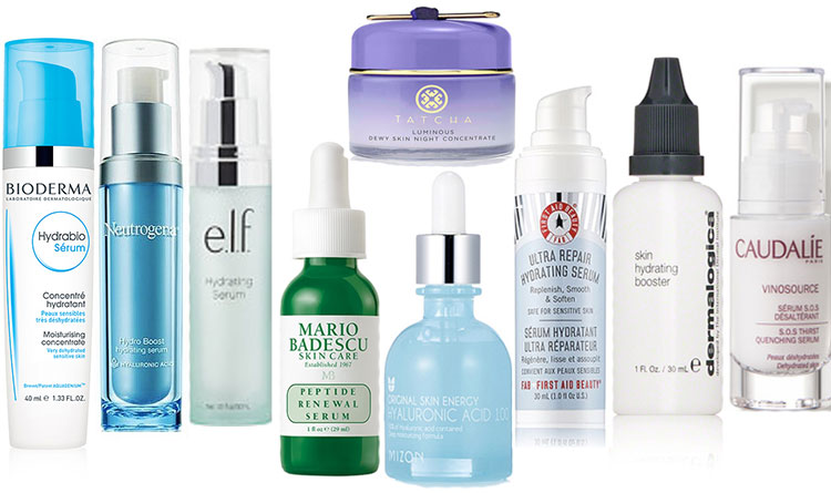 Face serums for dry skin