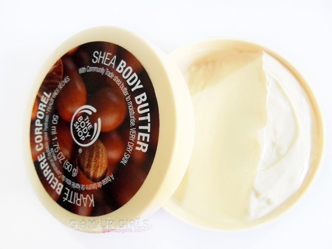 The Body Shop Shea Body Butter, Best Moisturizer for Dry skin