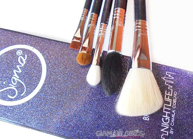 Sigma Beauty Nightlife Face and Eye Brush Set