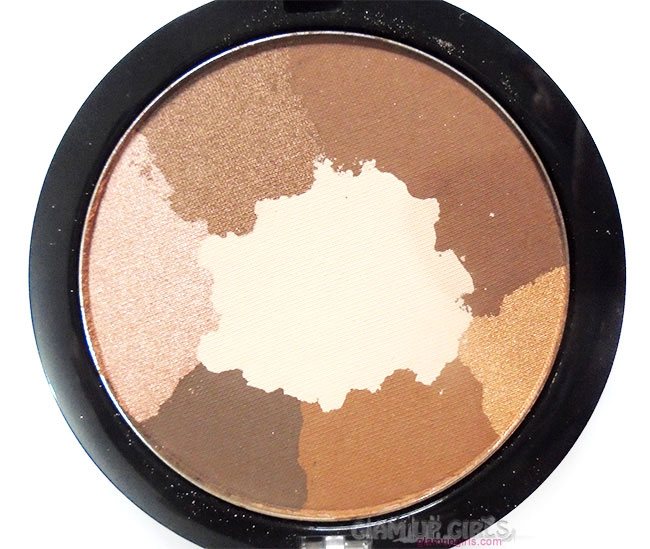 Milani Paint Eyeshadow Palette in Abstract close up
