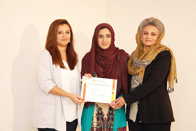 Certificate Award Ceremony