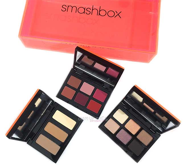 Smashbox Light It Up 3 Palette Set - Review and Swatches