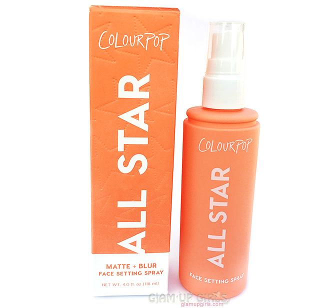ColourPop All Star Face Setting Spray