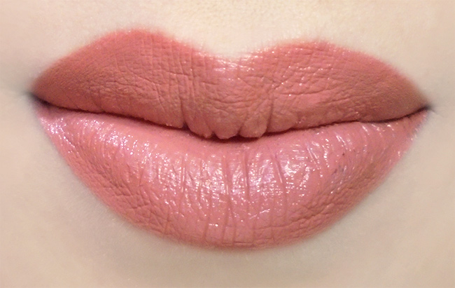 City Color Creamy Lips in Mai Tai Lip Swatch