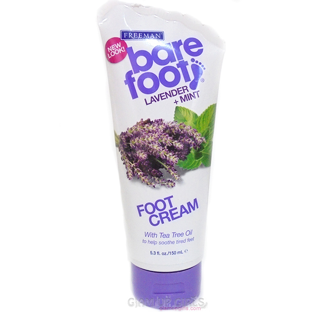 Freeman Lavender + Mint Foot Cream - Review