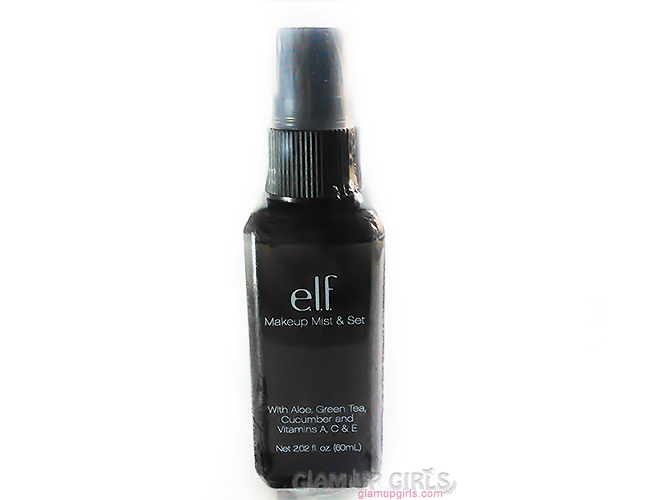 e.l.f. Studio Makeup Mist and Set Spray - Review