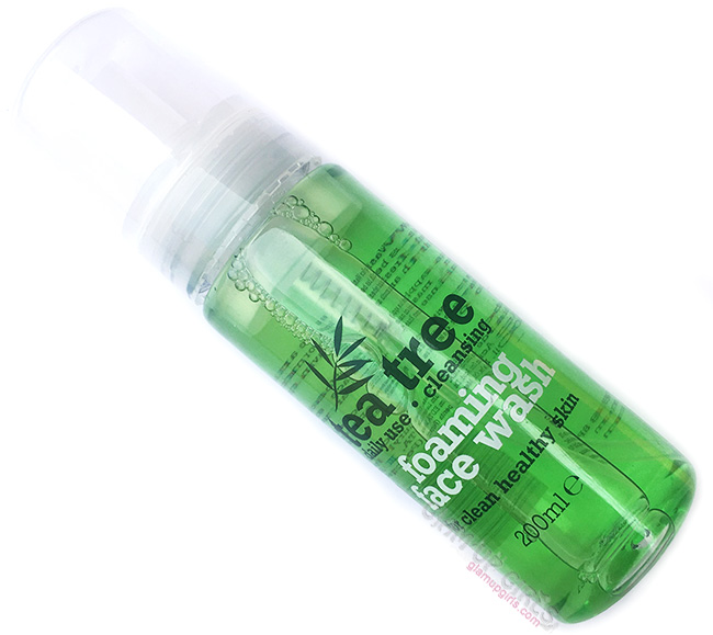 Tea Tree Cleansing Foaming Face Wash