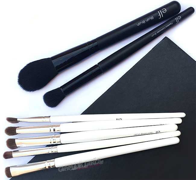 Best elf eye and face makeup brushes - review
