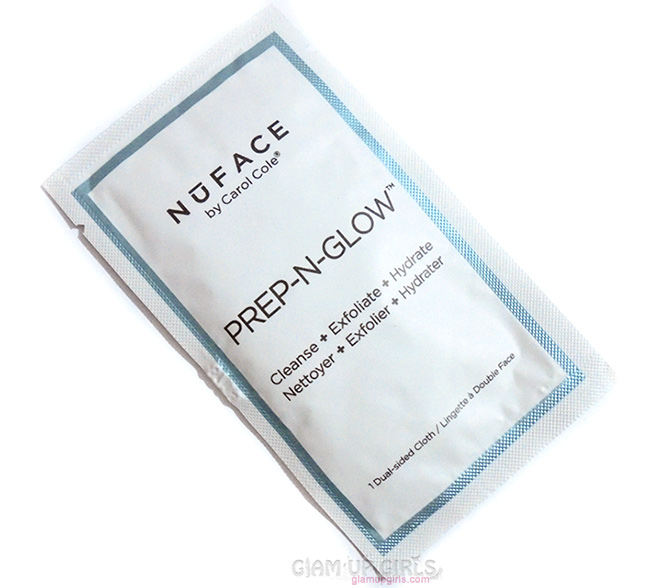 NuFACE Prep n Glow Cleansing and Exfoliating Cloths - Review