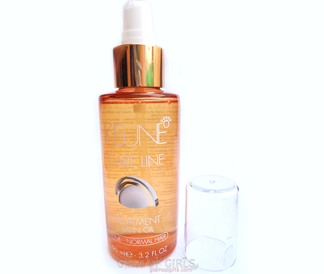 Keune Treatment Satin Oil for Normal Hair - Review