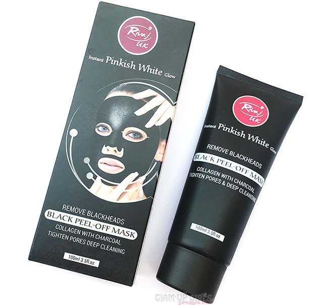 Rivaj UK Black Peel Off Mask Collagen with Charcoal - Review