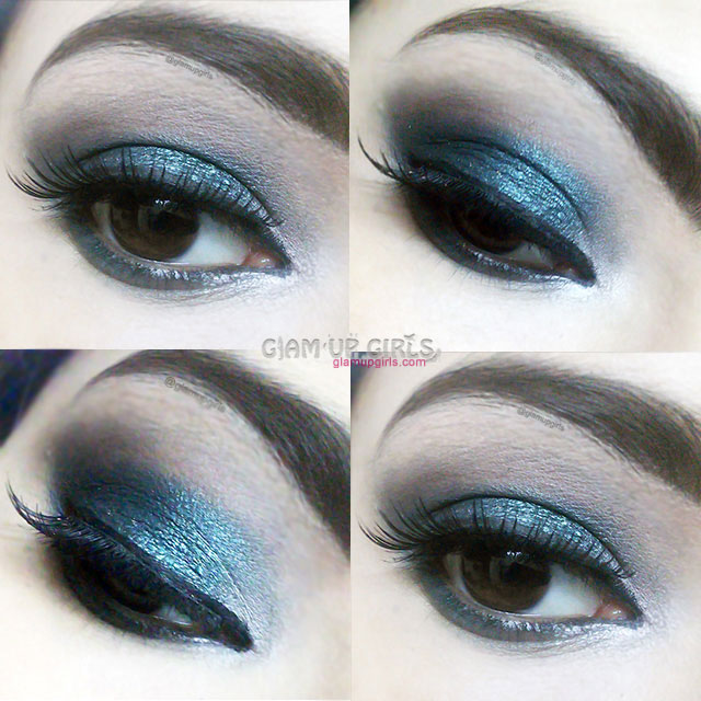Emerald Smokey Eye Makeup - EOTD