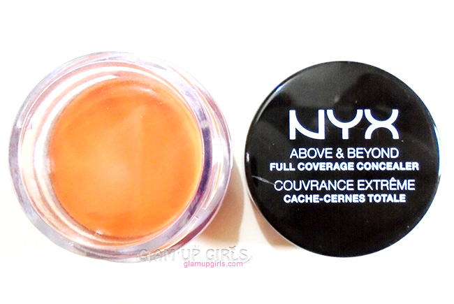 NYX Full Coverage Concealer Jar in Orange