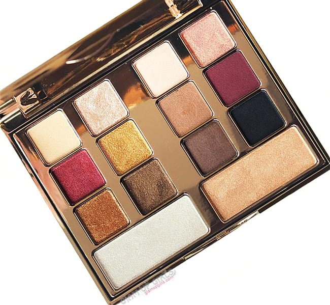 Milani Gilded Desires Eye and Face Palette - Review and Swatches