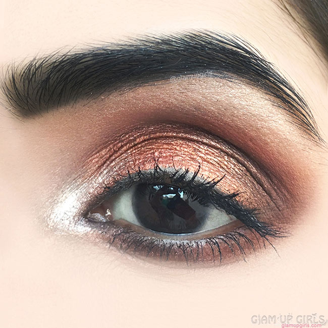 Copper, Bronze Makeup on Deep Set of Eyes - EOTD