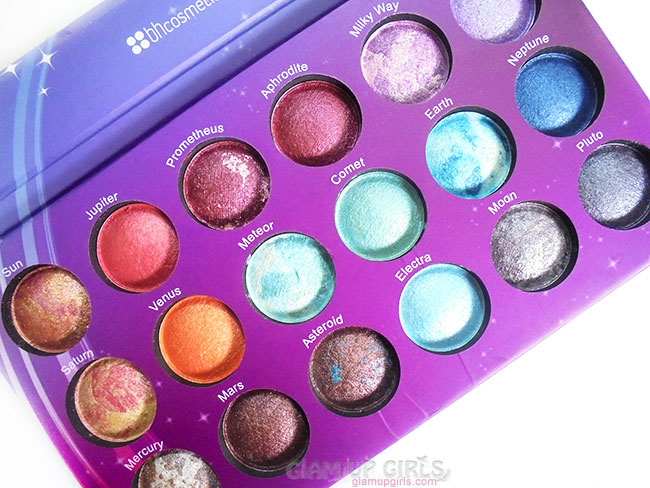 Beauty Essentials Kind-Hearted Jupiter Mars Neptune Saturn Uranus Makeup Eyeshadow Palette Shimmer Pigmented Eye Shadow Palette