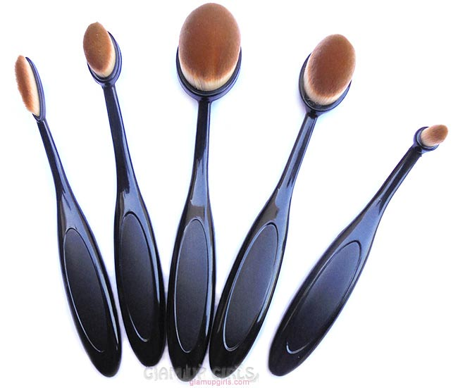 Oval Brush Set Dupe of Artis Brushes from Aliexpress - Review