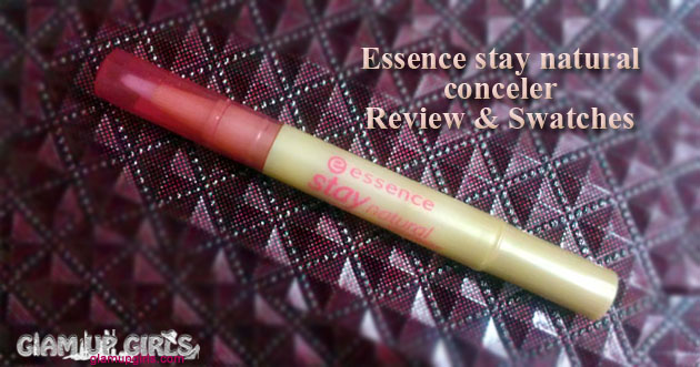 Essence stay natural concealer - Review and Swatches
