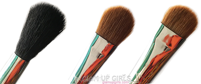 Sigma eye brushes in E40, E60 and E55
