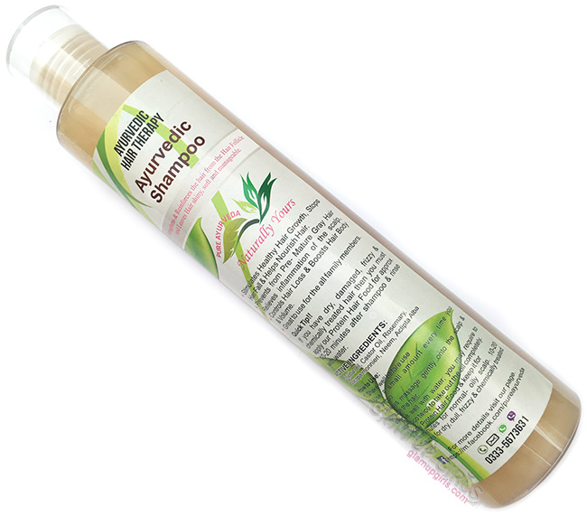 Pure Ayurvedic Hair Therapy Shampoo Review